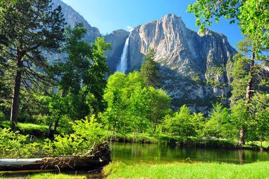 Йосемитский водопад, ч. II