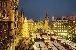Мюнхенский Christkindlmarkt